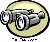Vector Clipart illustration  of a binoculars