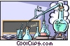 Chemistry Vector Clipart graphic