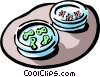 Culture dish Vector Clipart picture