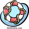 life preserver Vector Clip Art graphic