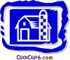 barn Vector Clip Art graphic