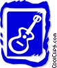 guitar Vector Clip Art graphic