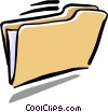 file folder Vector Clipart image