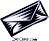 Vector Clip Art image  of a letter or envelope