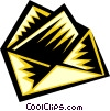 Vector Clipart graphic  of a letter or envelope