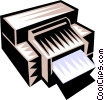 printer Vector Clipart picture