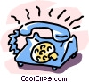 Vector Clipart image  of a phone