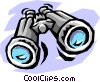 Vector Clip Art picture  of a binoculars