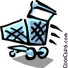 shopping cart Vector Clip Art graphic