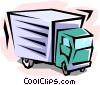 Vector Clip Art picture  of a truck