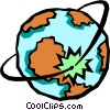 globe Vector Clipart image