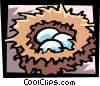 Vector Clip Art picture  of a eggs