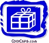Vector Clipart illustration  of a present