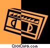 videotape Vector Clip Art graphic