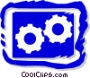 industry, gears Vector Clipart picture