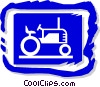 tractor Vector Clip Art picture