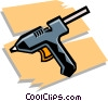 glue gun Vector Clip Art picture