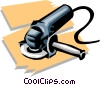 Vector Clip Art graphic  of a sander