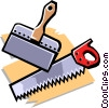 Vector Clipart illustration  of a saw