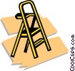 Vector Clipart picture  of a stepladder