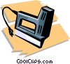 stapler Vector Clipart illustration