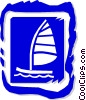 sailboat Vector Clipart illustration