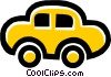 Vector Clip Art image  of a car