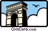 Vector Clipart image  of an archway