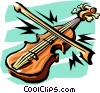 Vector Clip Art graphic  of an arts