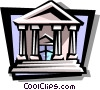 bank Vector Clipart graphic