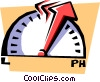 meter Vector Clipart illustration