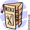 Vector Clipart picture  of a menu
