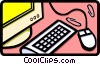 computer  equipment Vector Clip Art picture