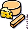 cheese Vector Clipart illustration