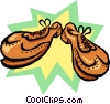 shoes Vector Clipart graphic
