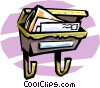 Vector Clipart image  of a mail box