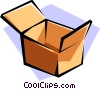 Vector Clipart image  of a package