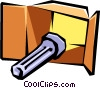 flashlight Vector Clipart illustration