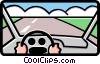 driving Vector Clipart picture