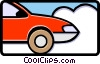 Vector Clip Art graphic  of a car