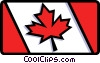 Vector Clipart picture  of a Canadian Flag
