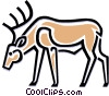 Vector Clipart graphic  of a elk