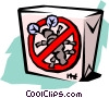 Vector Clipart graphic  of an ant trap