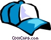 Vector Clip Art graphic  of a baseball cap