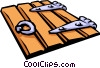 trapdoor Vector Clipart illustration