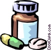prescription medicine Vector Clipart picture