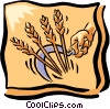 Vector Clip Art picture  of a sickle