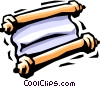 Vector Clipart picture  of a scriptures