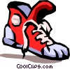Vector Clipart picture  of a running shoe