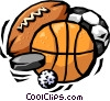 sports in general Vector Clipart illustration